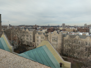 We also have the best views. We spend a lot of time on rooftops! (Erasmus High School, Brooklyn)