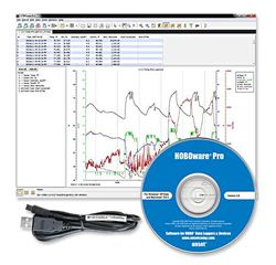 HOBOware Pro V3 Data Logger Software