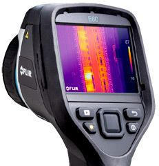 Thermal Image Camera (Flir E60)