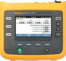 Three Phase Electrical Energy Logger (Fluke 1730)