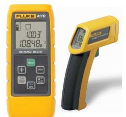 Temperature and Distance meter Kit (Fluke 411D/62 )
