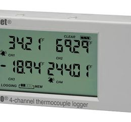 4-Channel Thermocouple logger (UX120-014M)